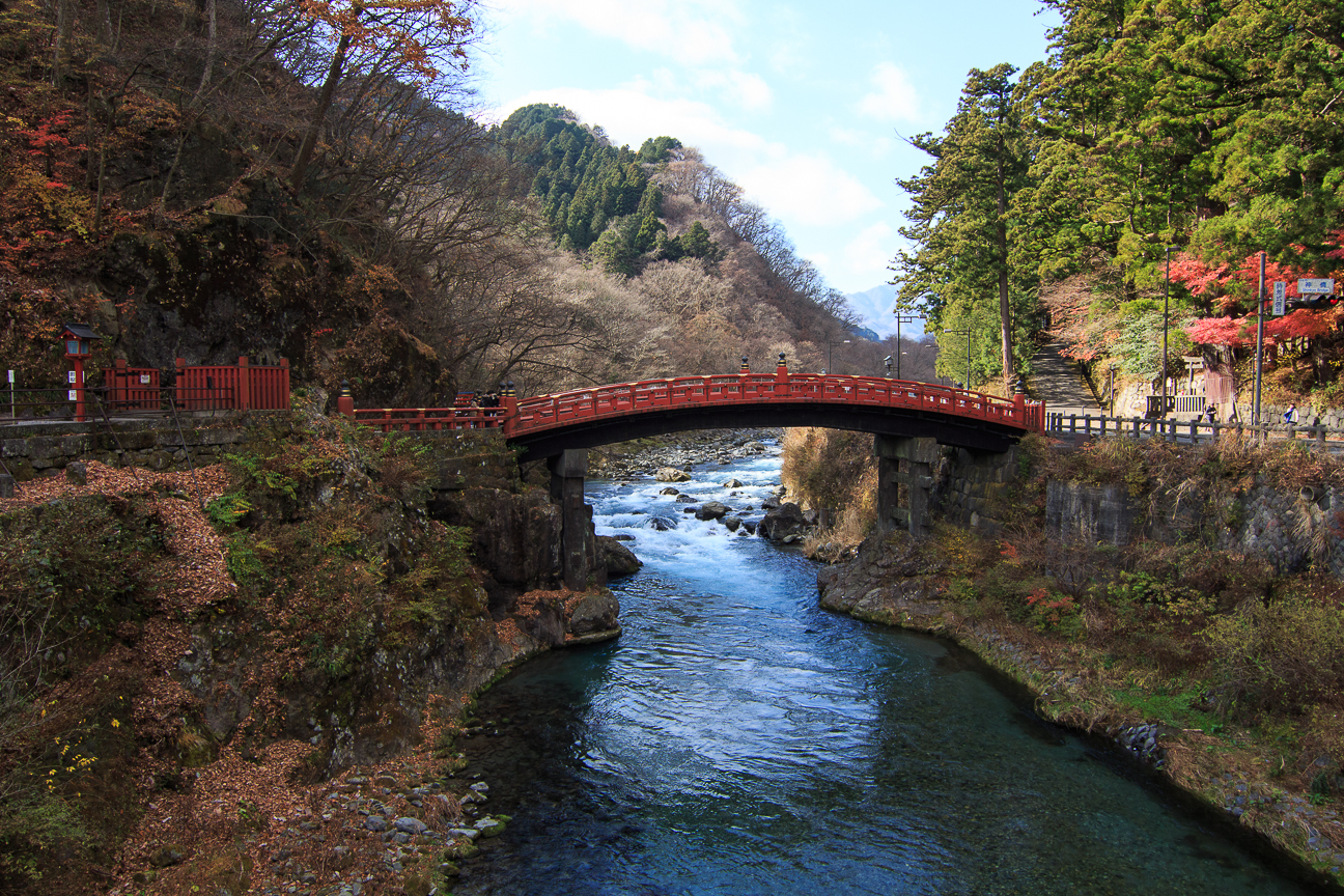 Puente en Nikko Japon