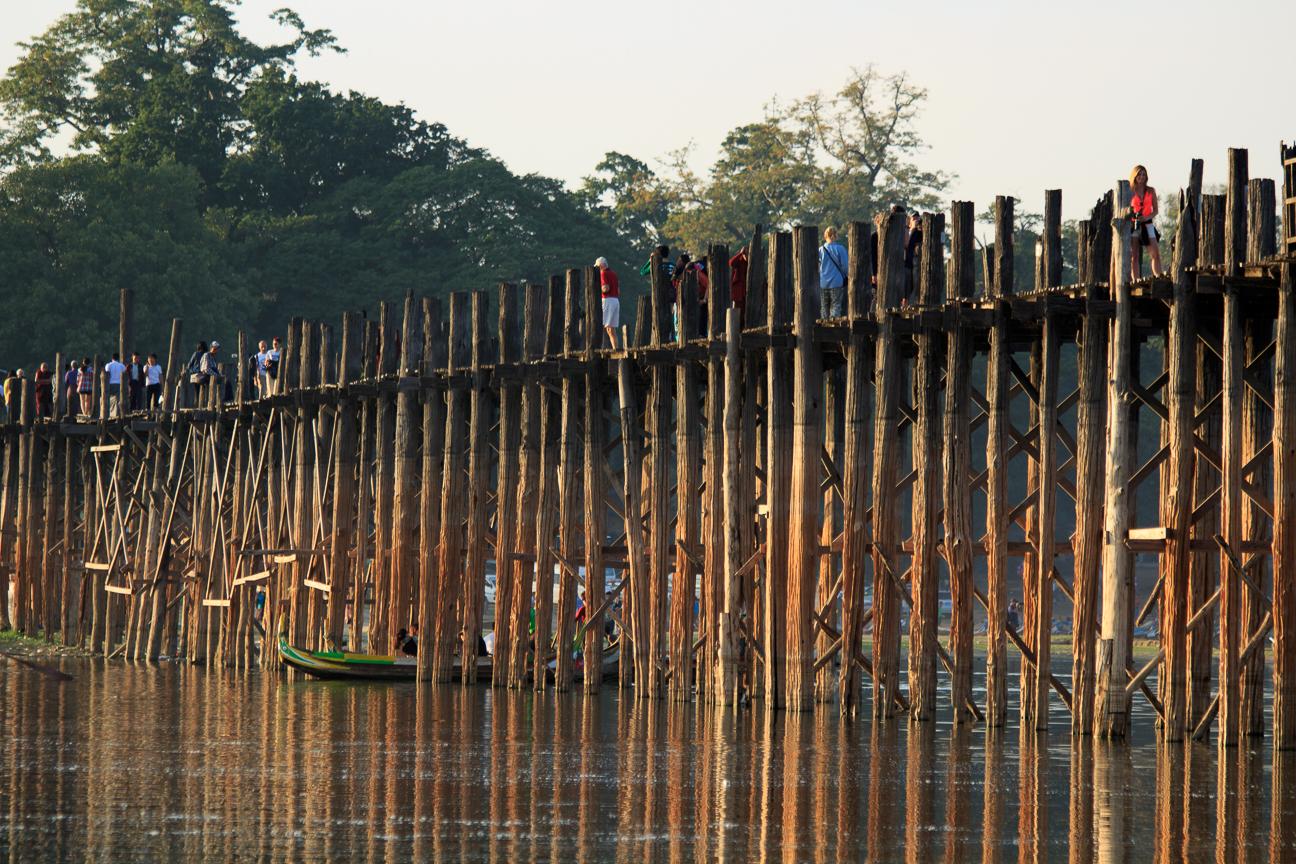 Puente de teca U-Bain
