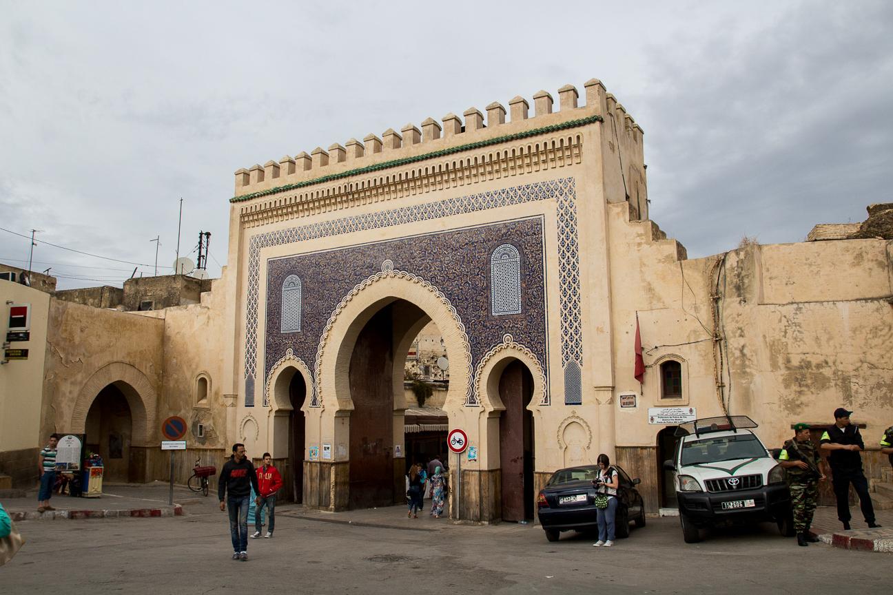 Puerta azul o Bab Boujloud