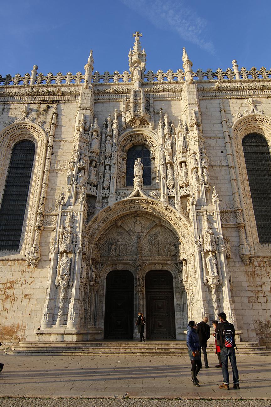 Puerta lateral Iglesia de los Jeronimos