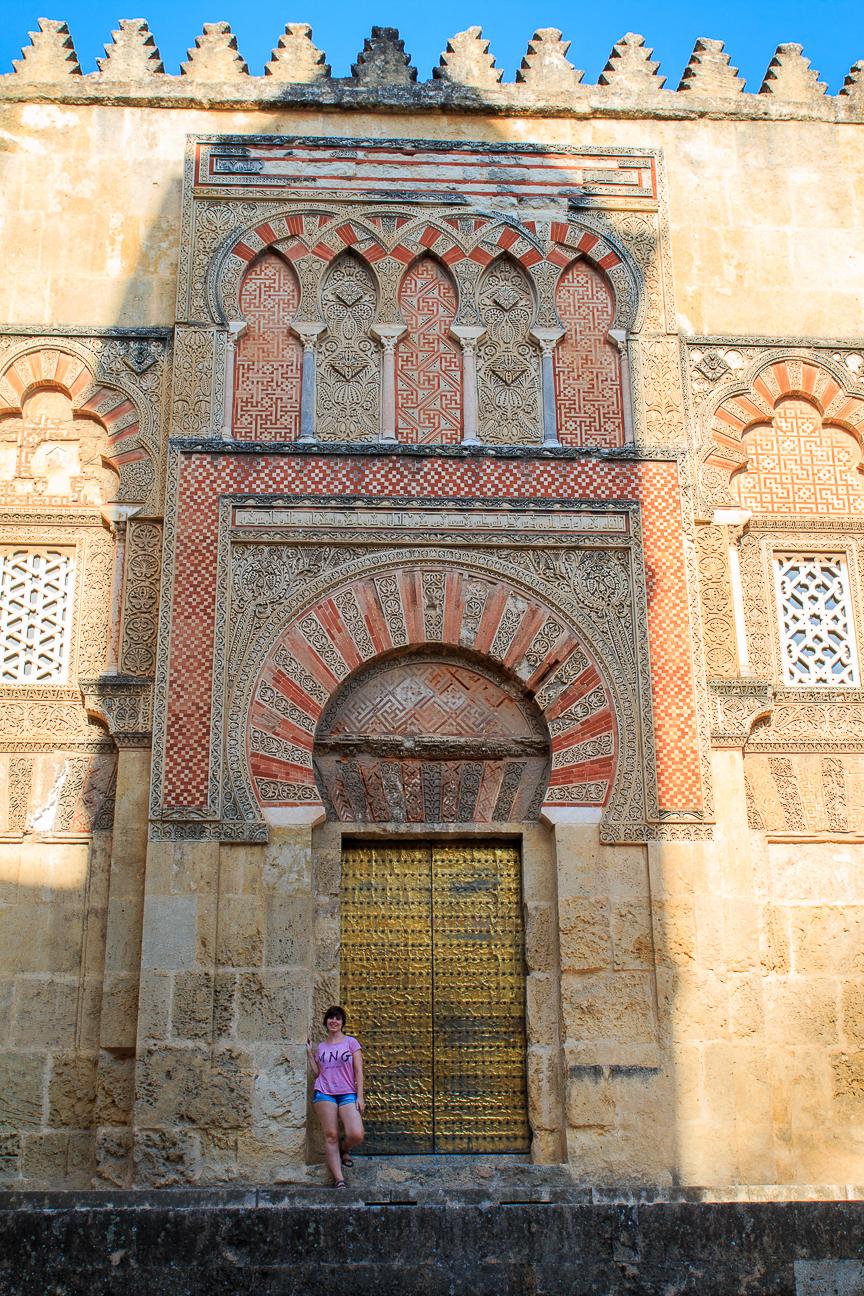 Puertas de entrada a la mezquita de Cordoba