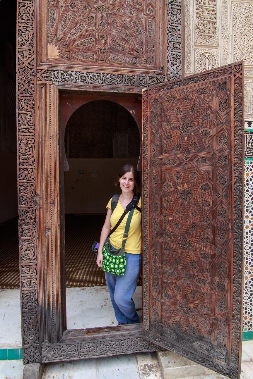 Puertas de la madraza Bou Inannia