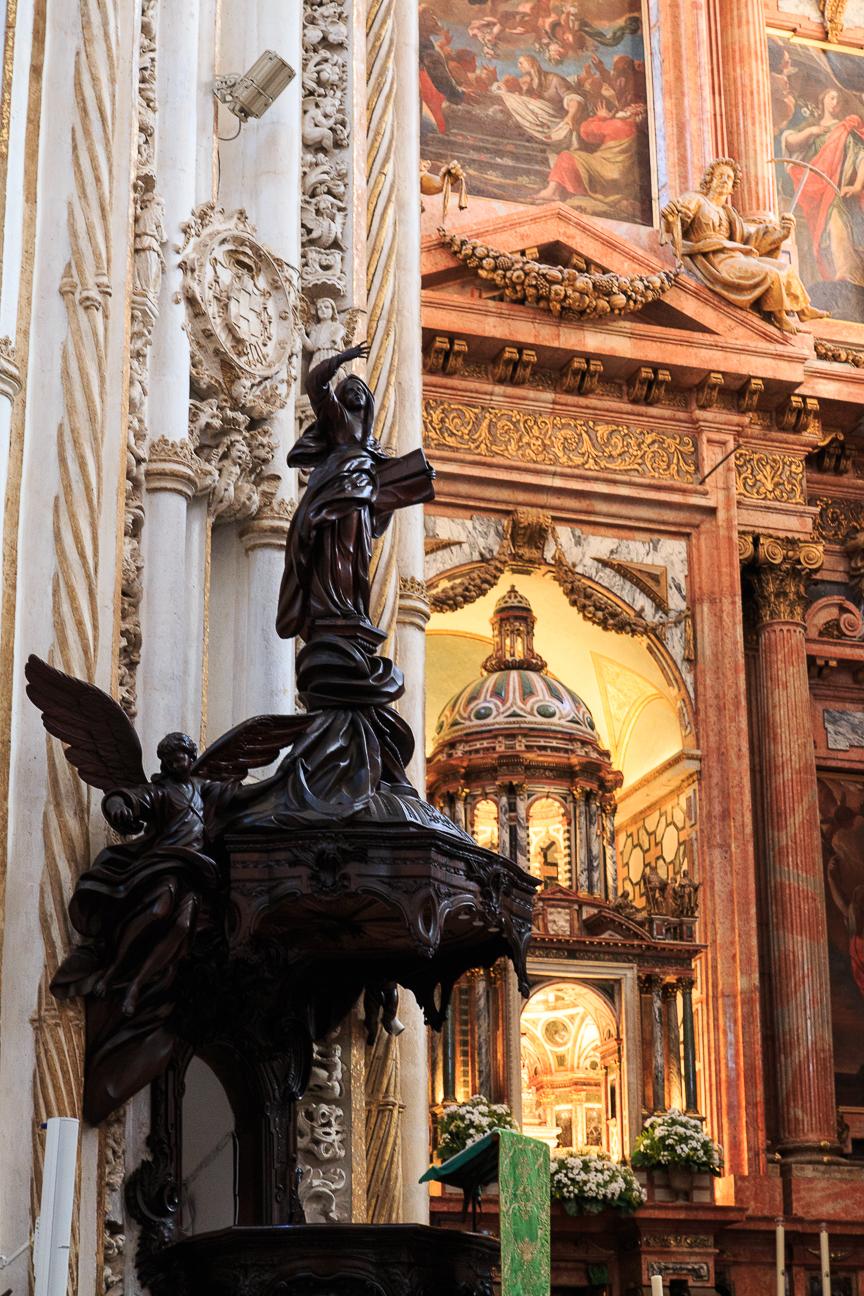 Pulpito de la Catedral de Cordoba