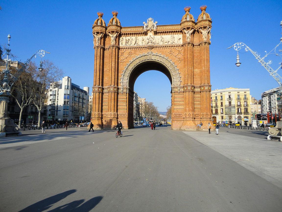 Que hacer en Barcelona - Arc de Triomf