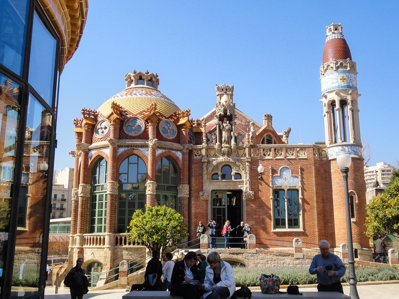 Que hacer en Barcelona - Edificios modernistas Sant Pau