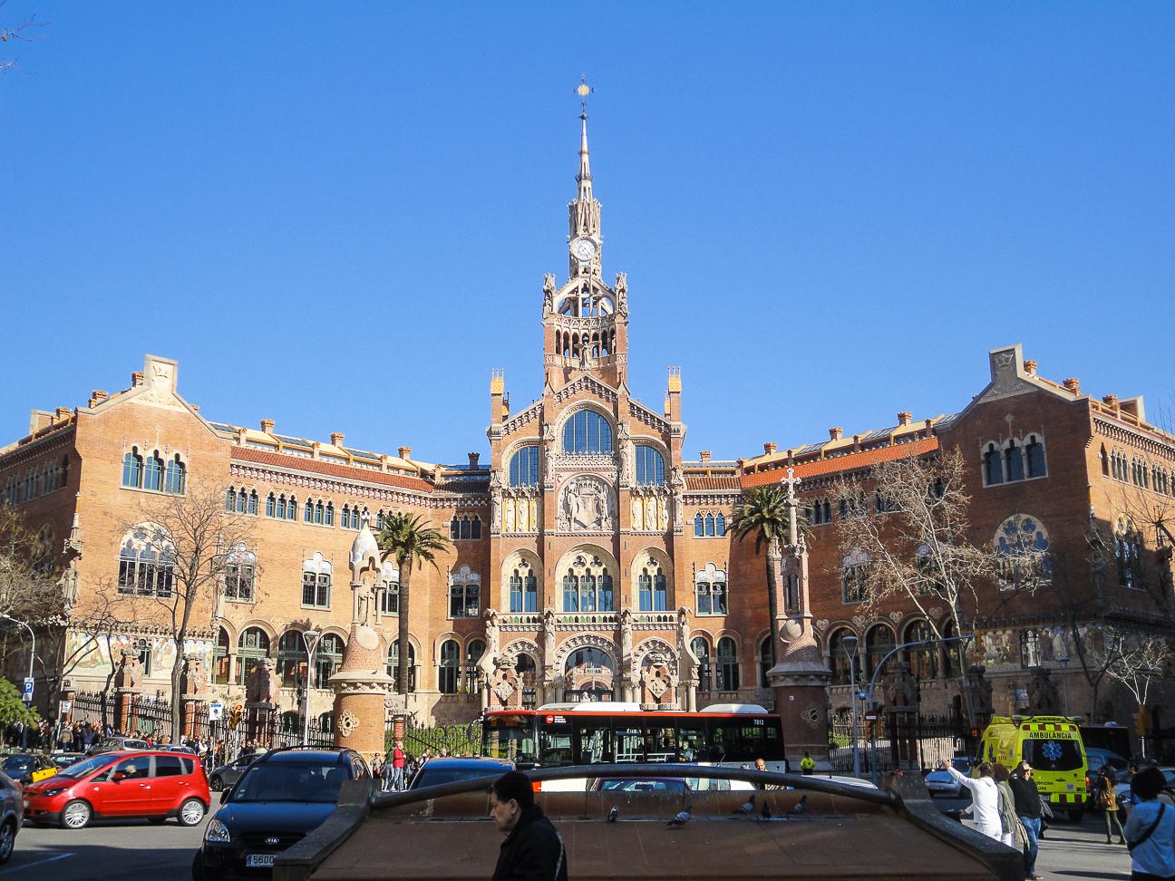 Que hacer en Barcelona - Hospital de Sant Pau