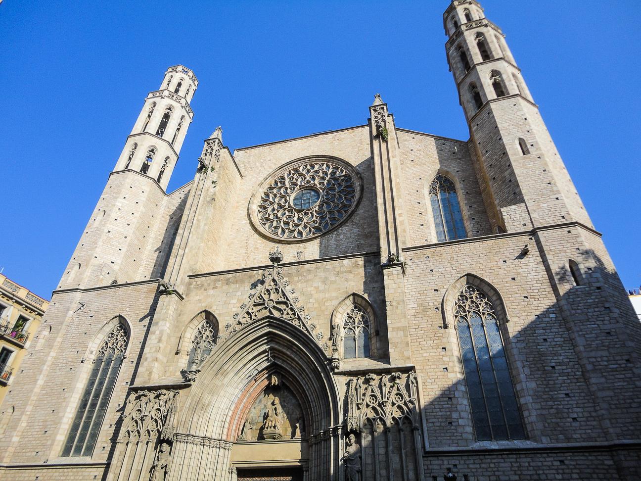 Que hacer en Barcelona - iglesia de Santa Maria del Mar