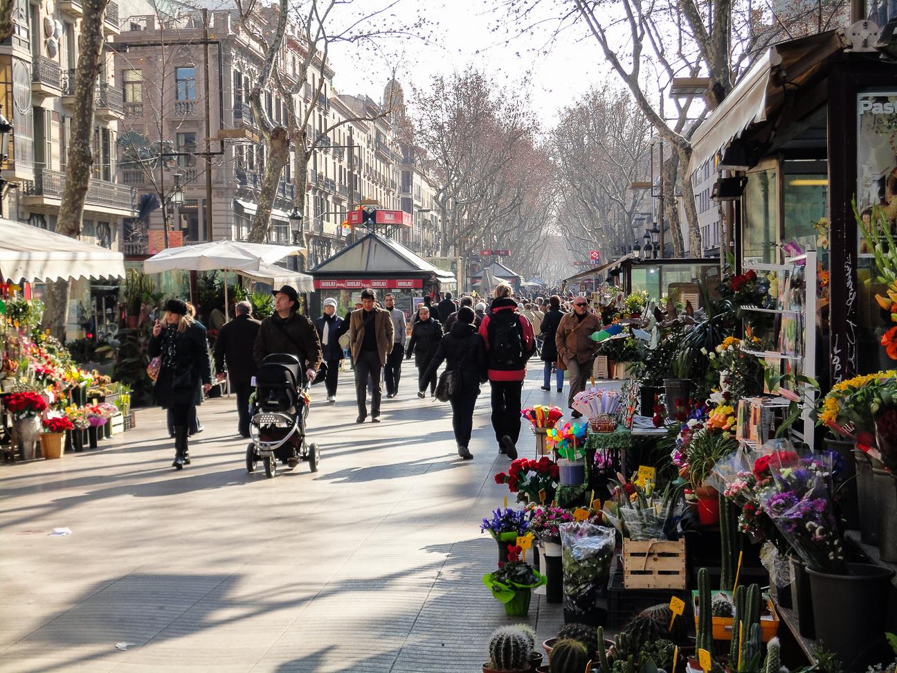 Que hacer en Barcelona - Las Ramblas
