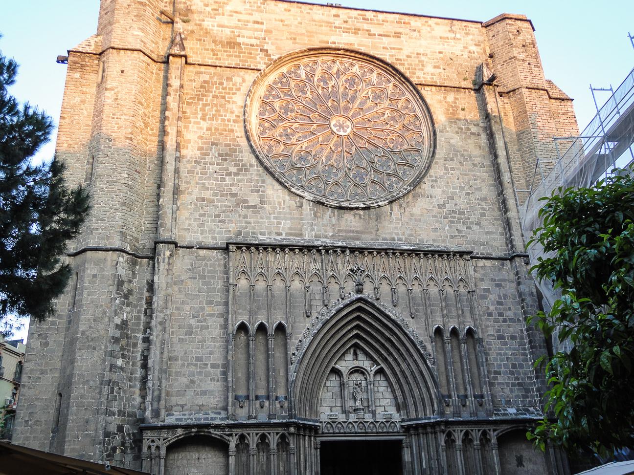 Que hacer en Barcelona - Roseton iglesia del Pi