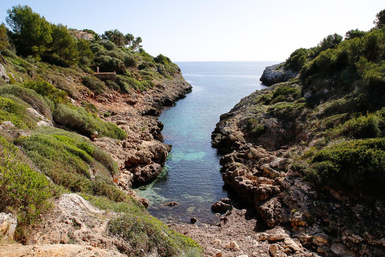 Que hacer en Mallorca chapuzon en una cala
