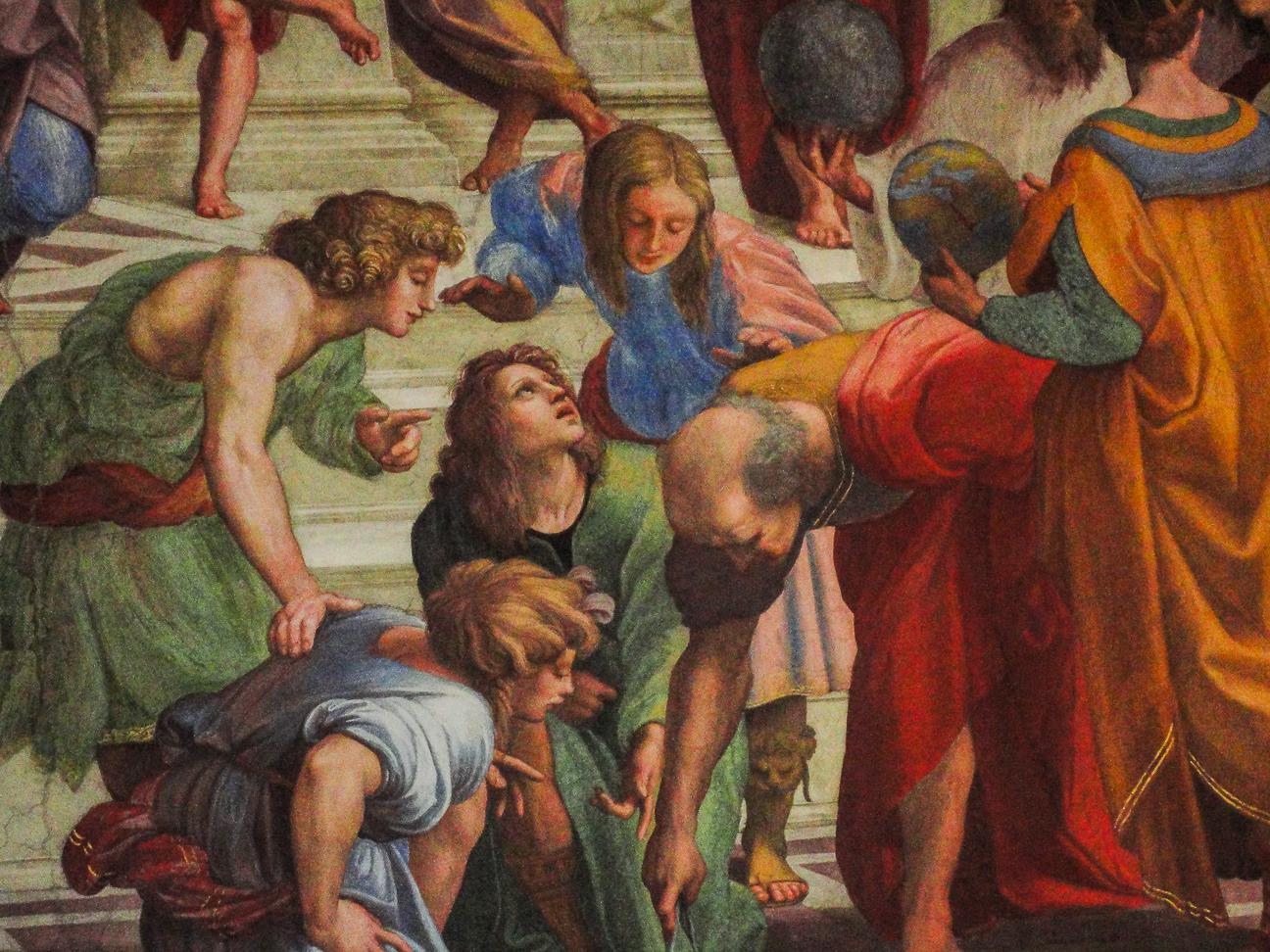 Que hacer en Roma disfrutar de las pinturas del vaticano