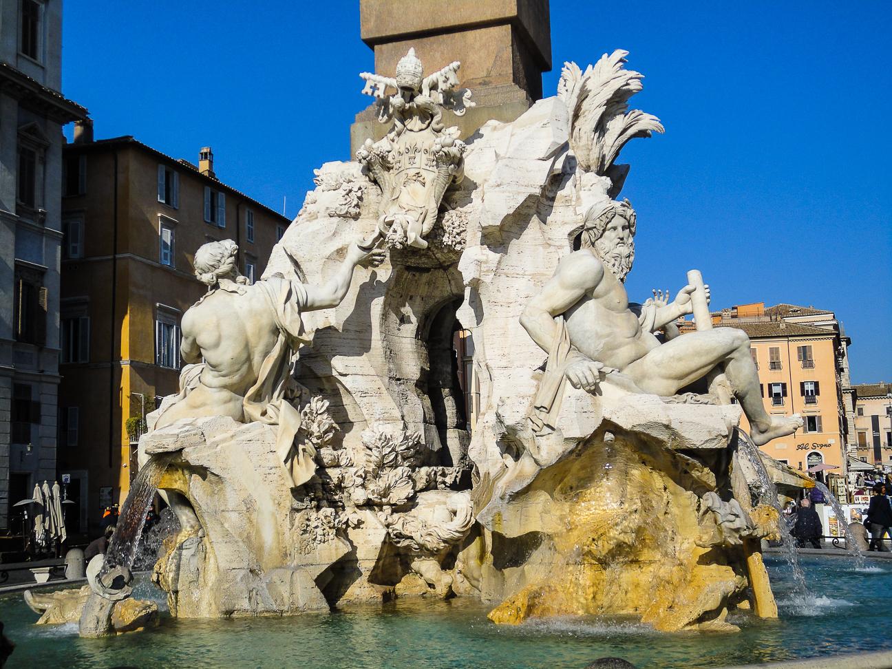 Que hacer en Roma plaza navona