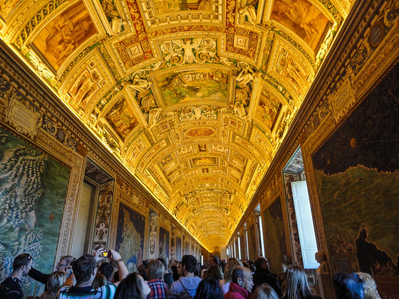 Que hacer en Roma Salas Museo Vaticano