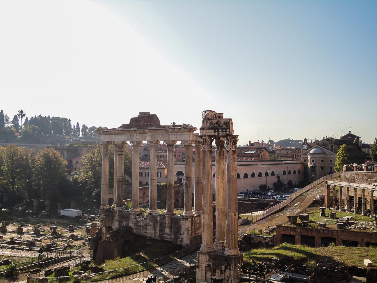 Que hacer en Roma Templo romano