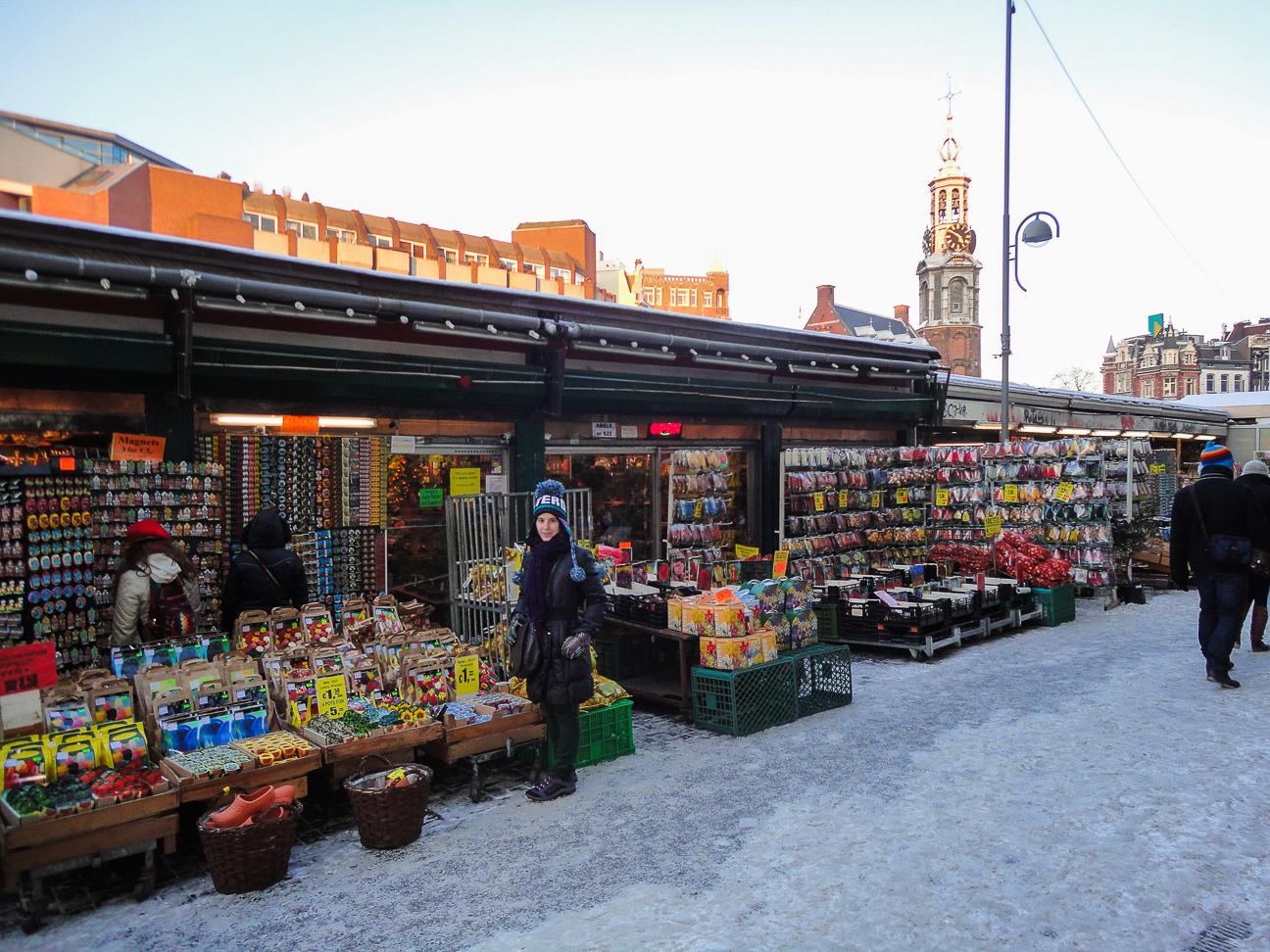 Que ver en Amsterdam Bloenmarkt