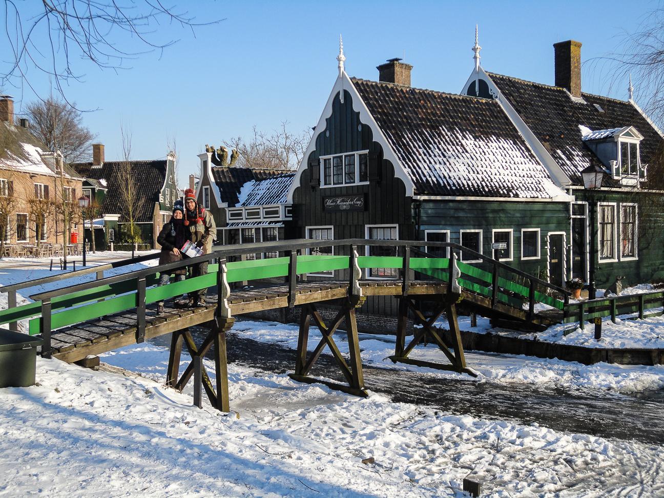 Que ver en Amsterdam Pueblo de Zaanse Schans
