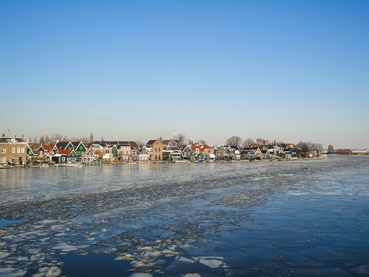 Que ver en Amsterdam rio helado