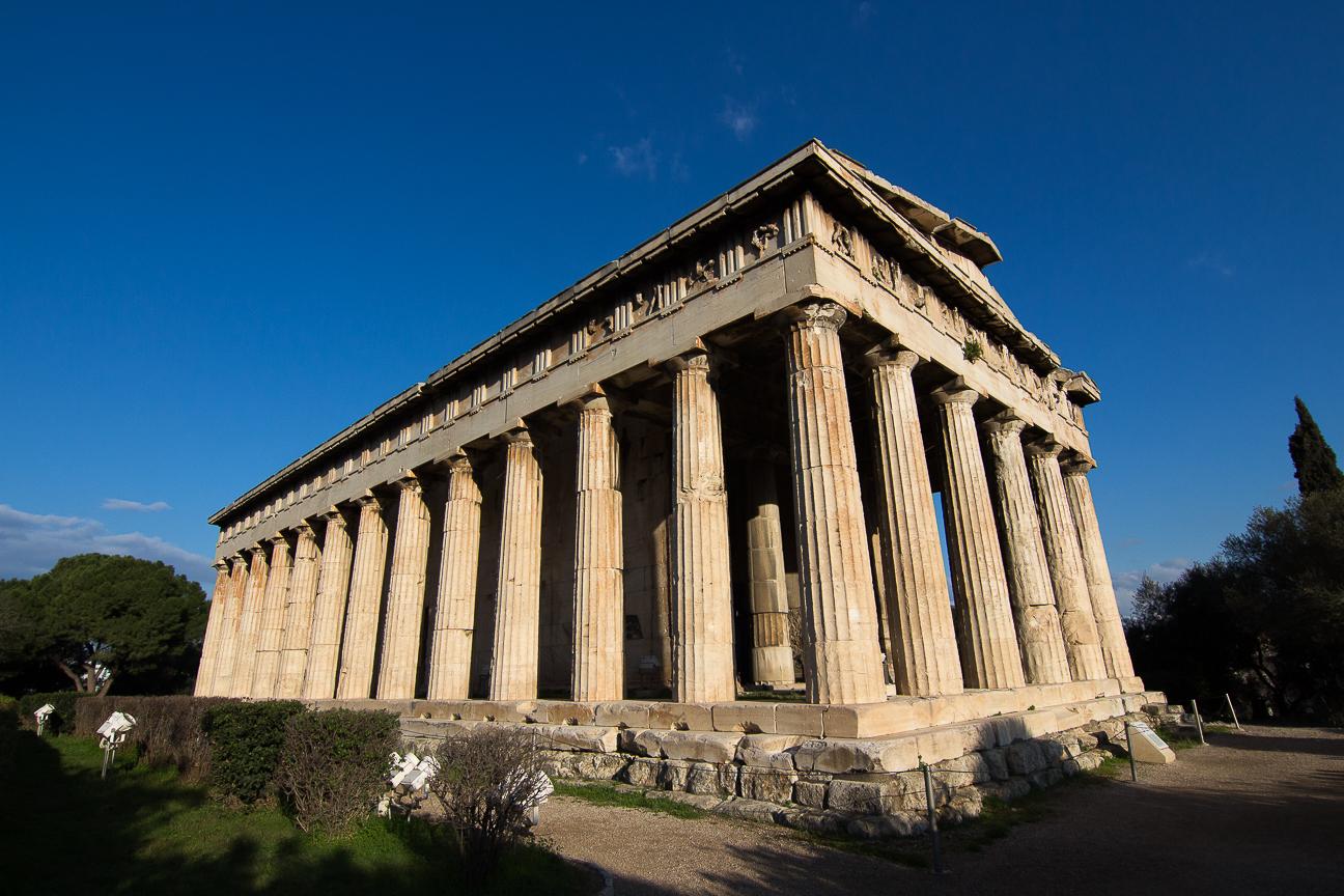 Que ver en Atenas en 3 dias Templo de Hefesto