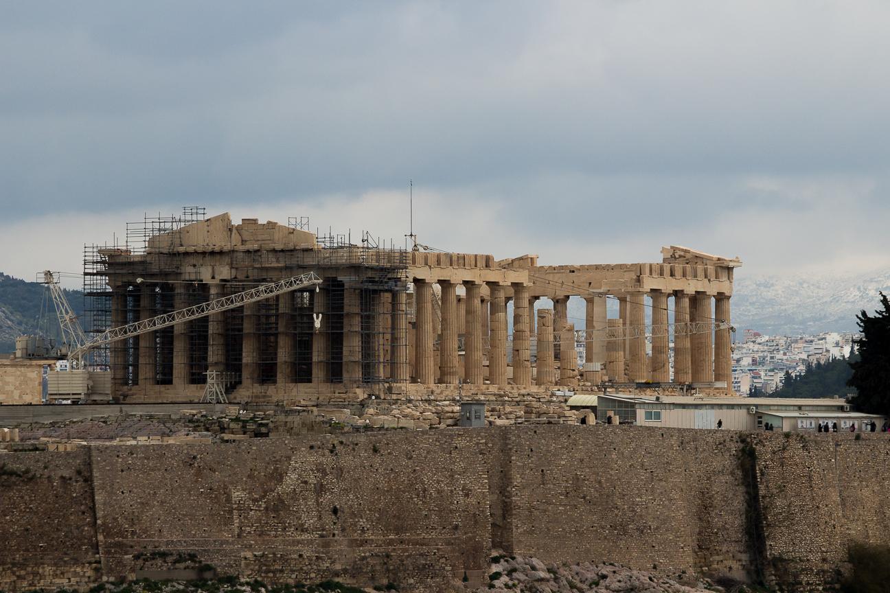 Que ver en Atenas Partenon
