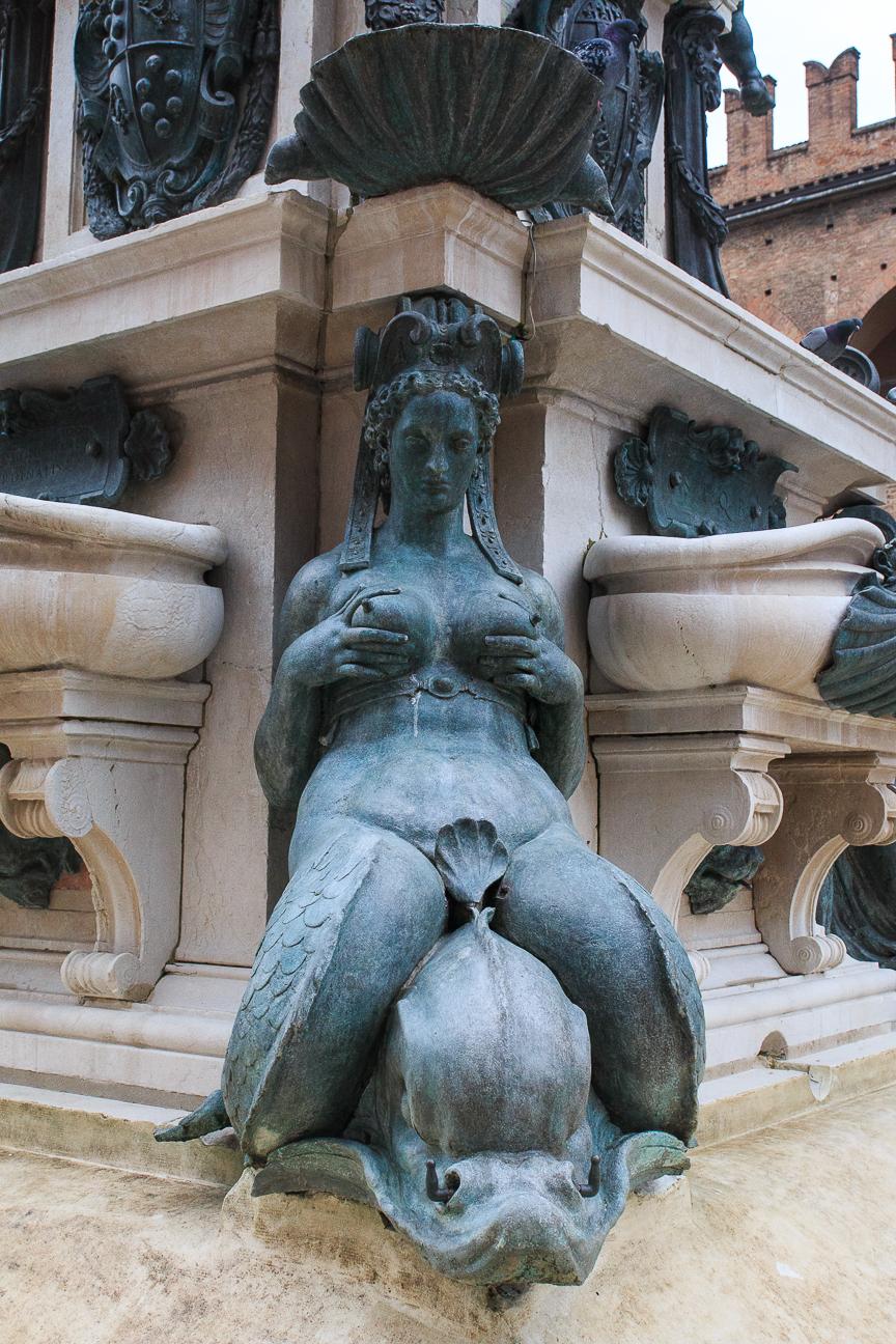 Que ver en Bolonia Fuente Neptuno