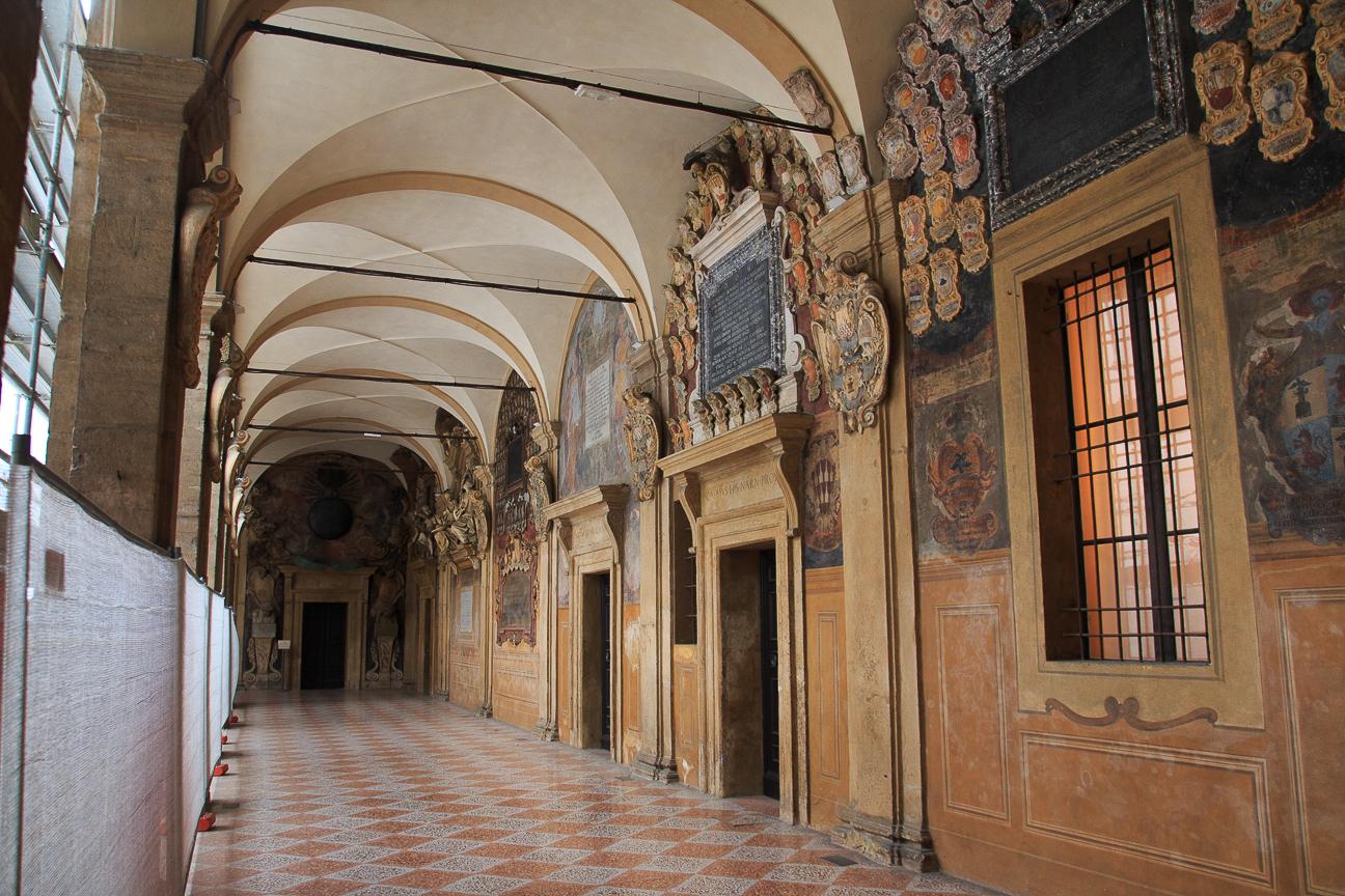 Que ver en Bolonia Palacio Archiginnasio