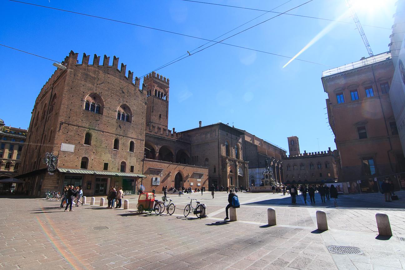 Que ver en Bolonia Piazza Magiore