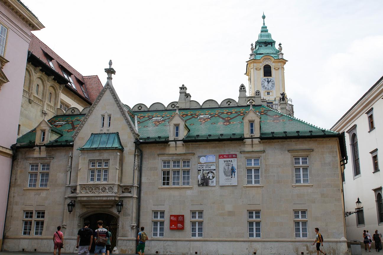 Que ver en Bratislava Ayuntamiento viejo