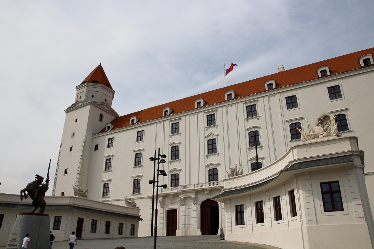 Que ver en Bratislava Castillo