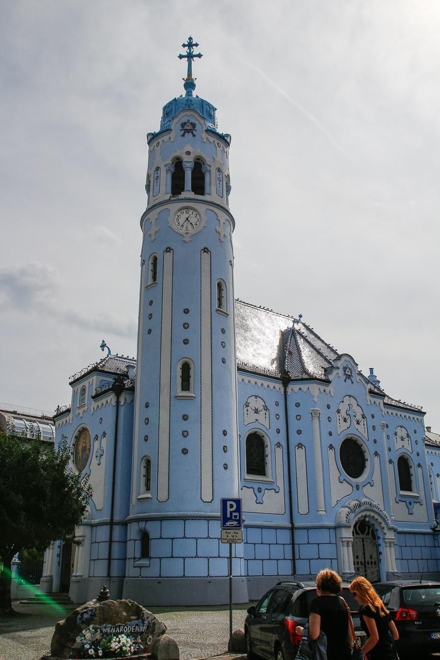 Que ver en bratislava iglesia azul