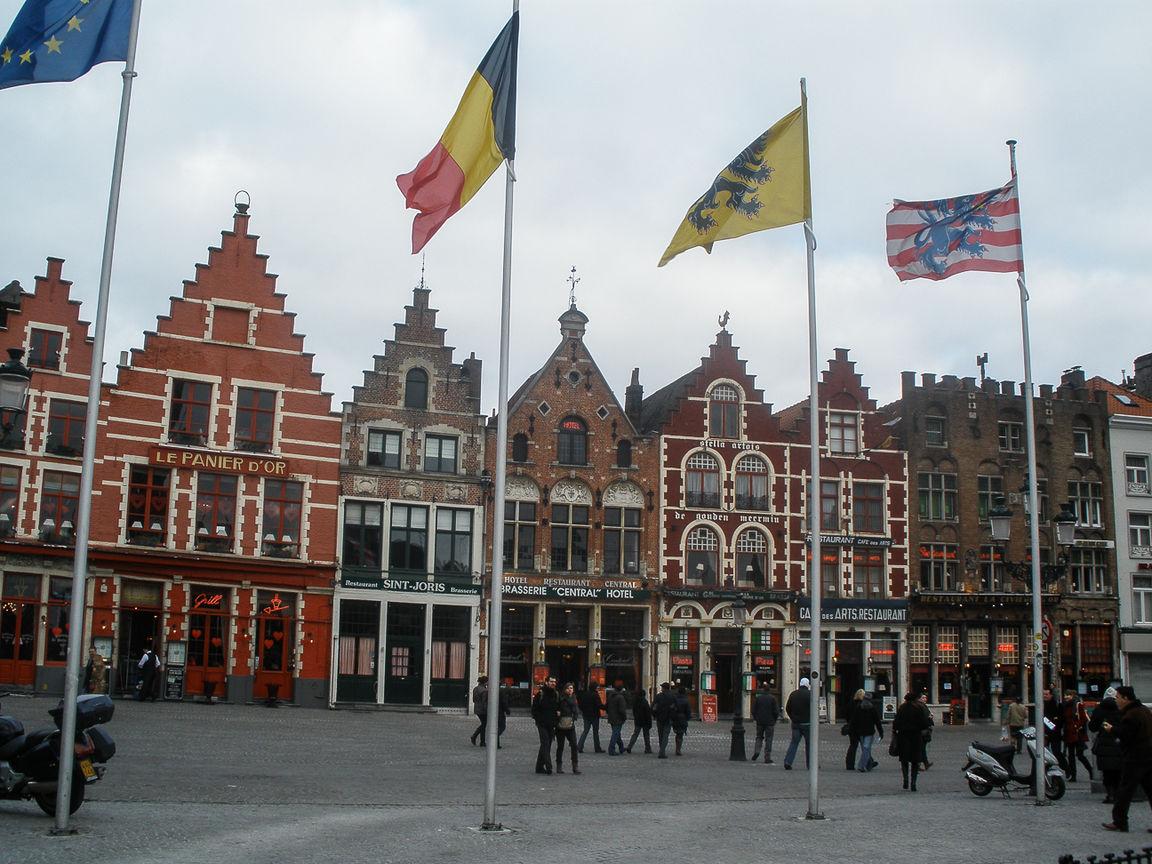 Que ver en Brujas Plaza Grote Markt