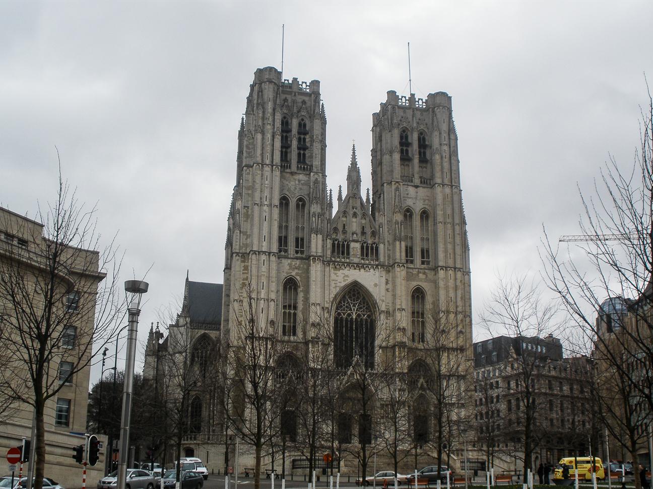 Que ver en Bruselas Catedral de San Miguel y Santa Gudula