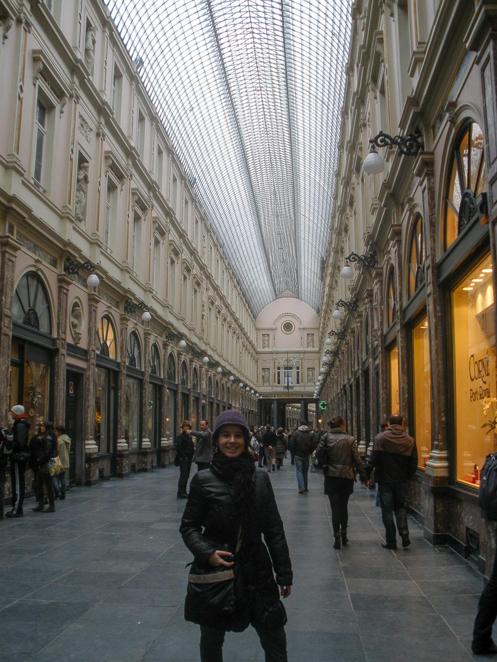 Que ver en Bruselas Galerias Saint Hubert