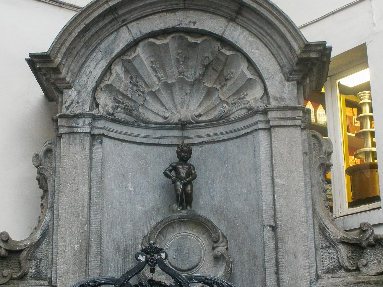 Que ver en Bruselas Manekken Pis