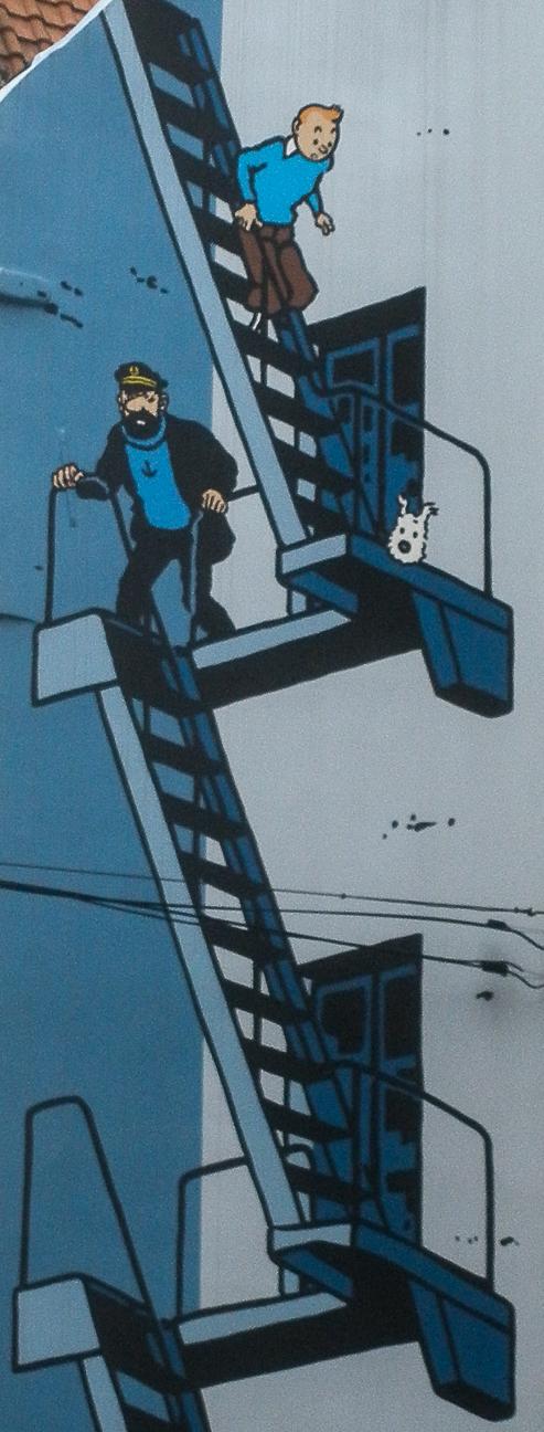 Que ver en Bruselas Tintin