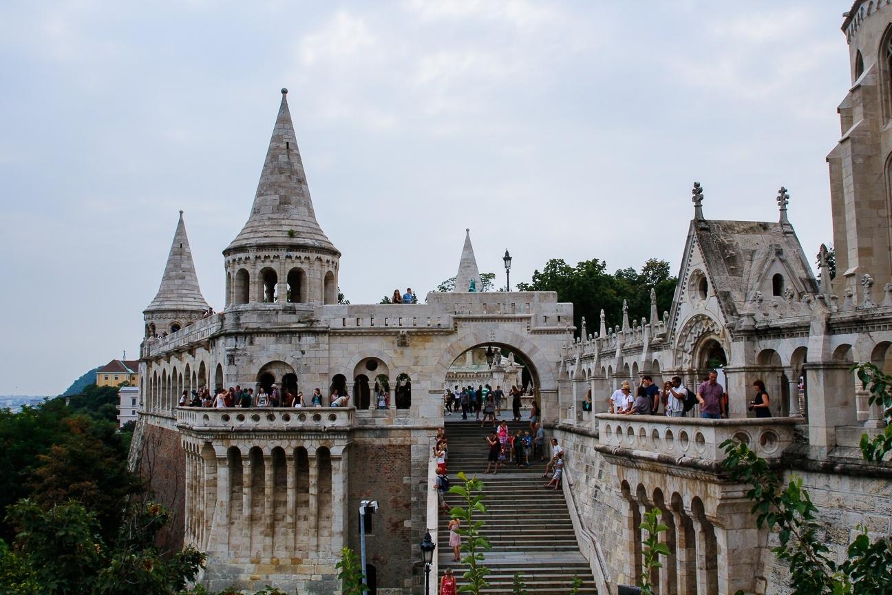 Que ver en Budapest - bastion de los pescadores