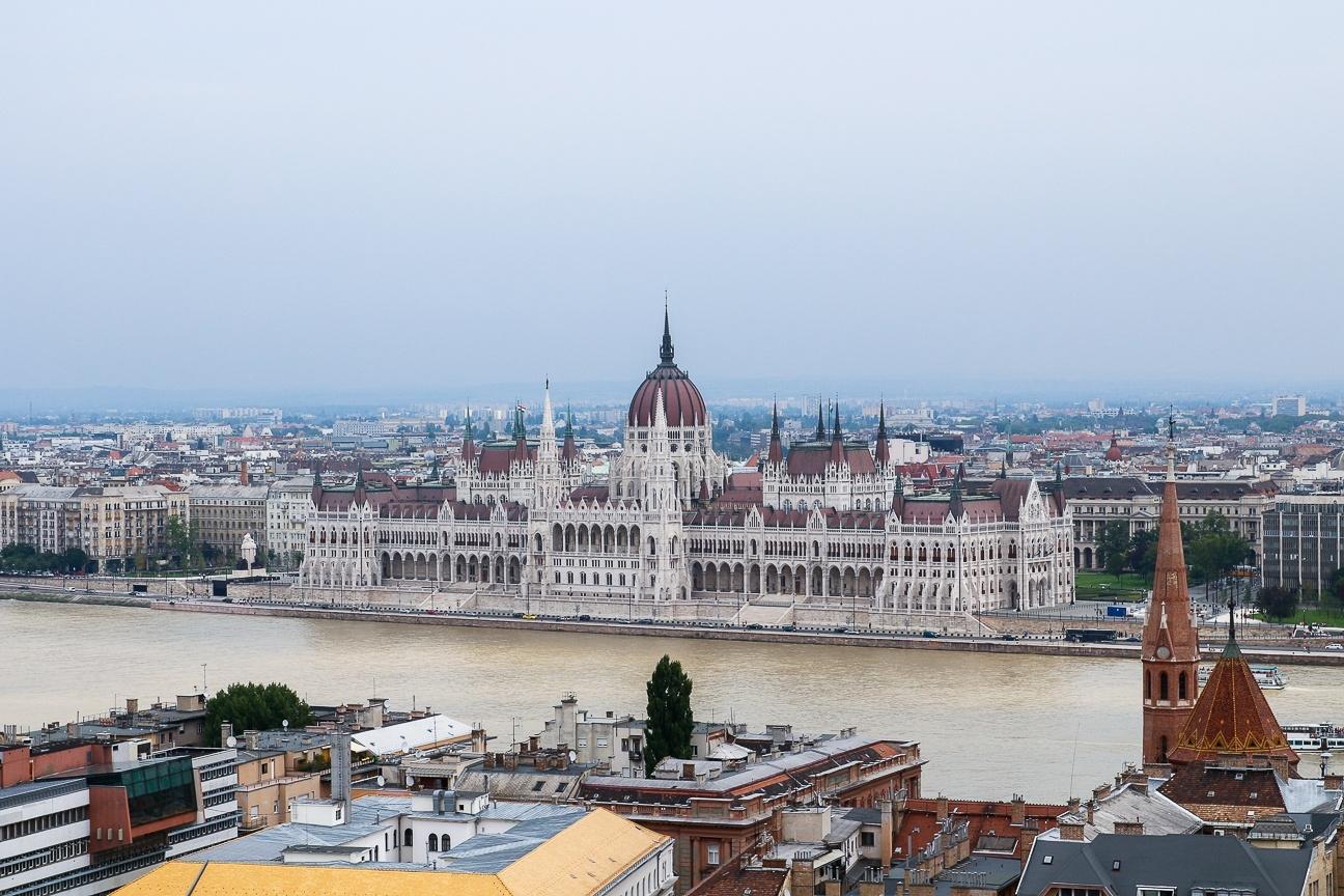 Que ver en Budapest - el Parlamento desde Buda