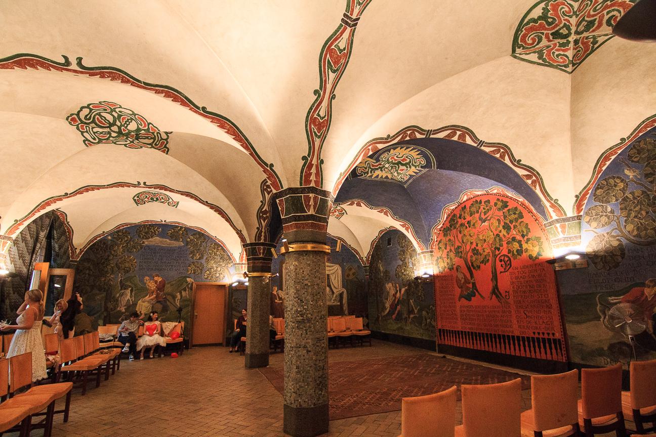 Que ver en Copenhague estancias decoradas del Radhuspladsen