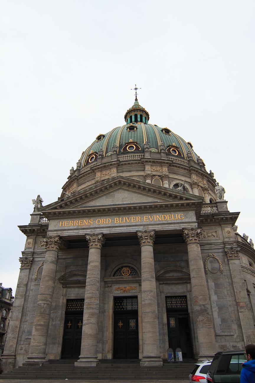 Que ver en Copenhague iglesia de marmol