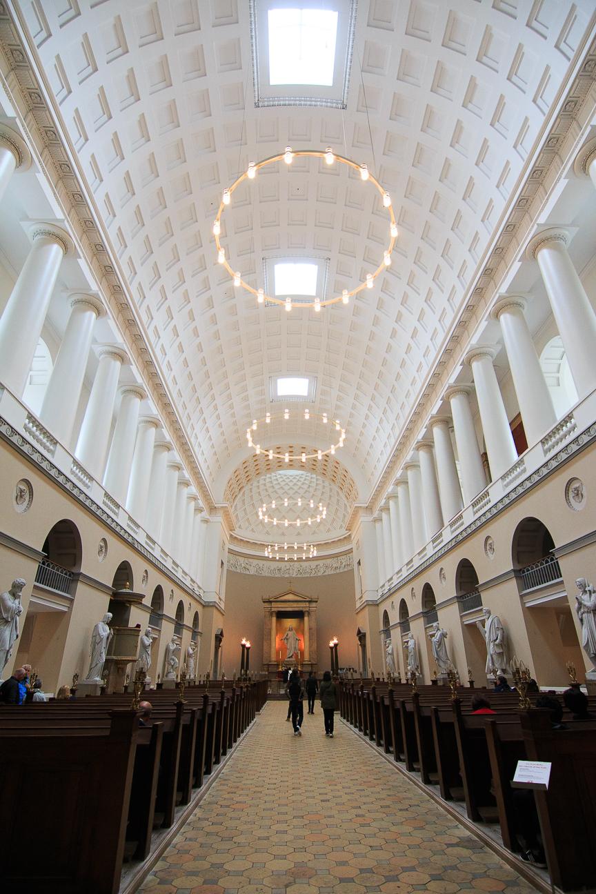 Que ver en Copenhague interior catedral