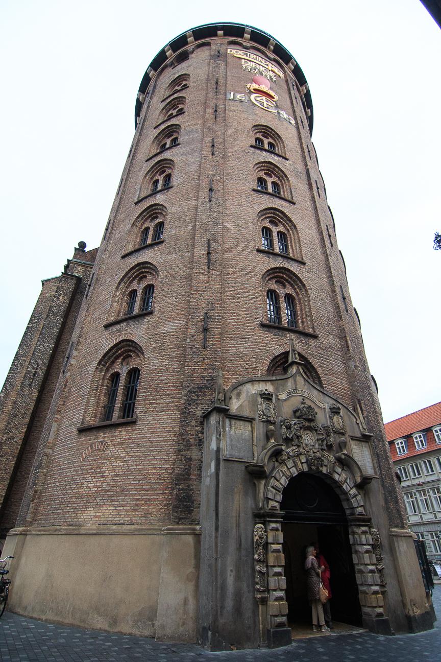 Que ver en Copenhague La torre redonda