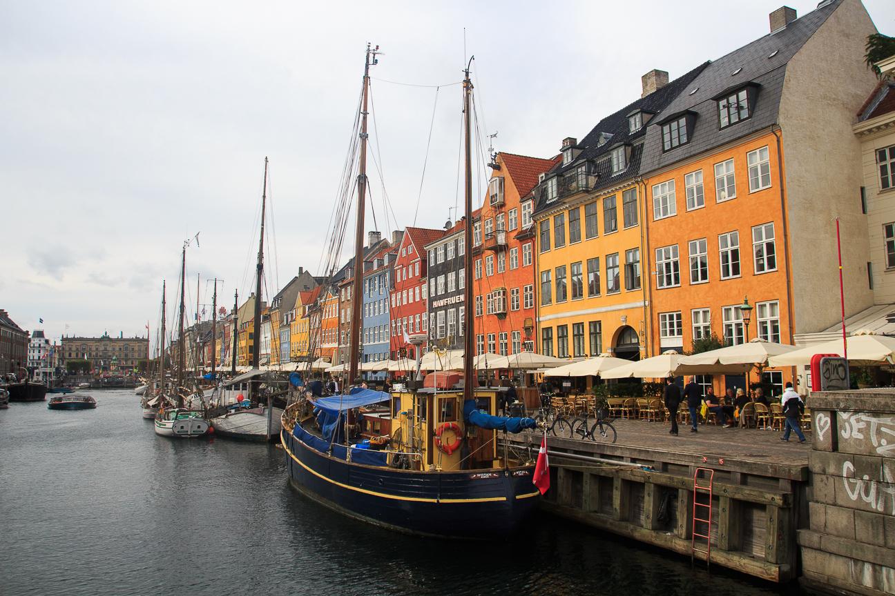 Que ver en Copenhague puerto Nyhavn