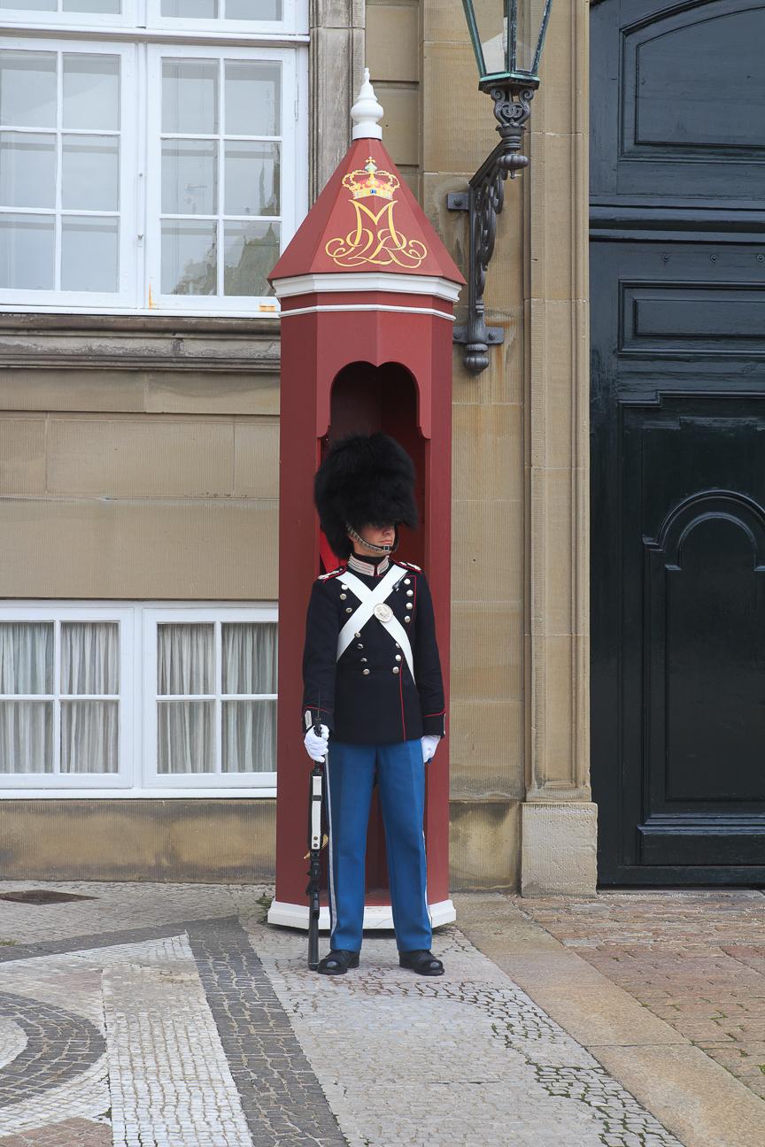 Que visitar en Copenhague soldado real