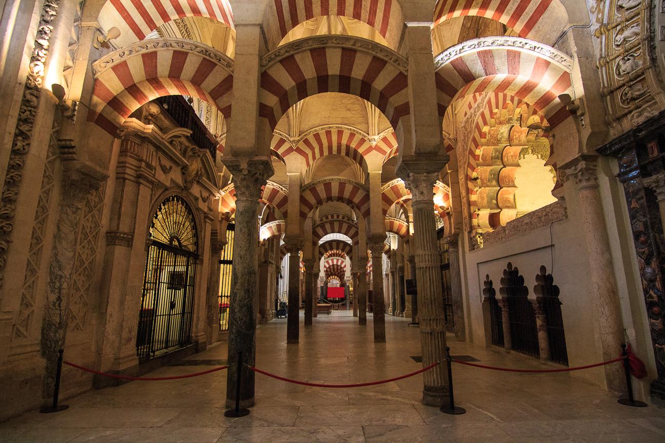 Que ver en Cordoba - Interior de la Mezquita Catedral de Cordoba