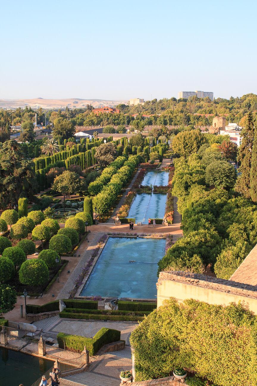 Que ver en Cordoba - Jardines del Alcazar de los reyes cristianos