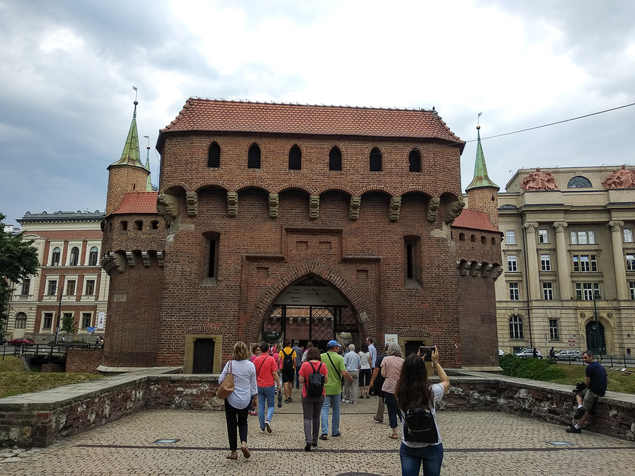 Que ver en Cracovia Barbacana