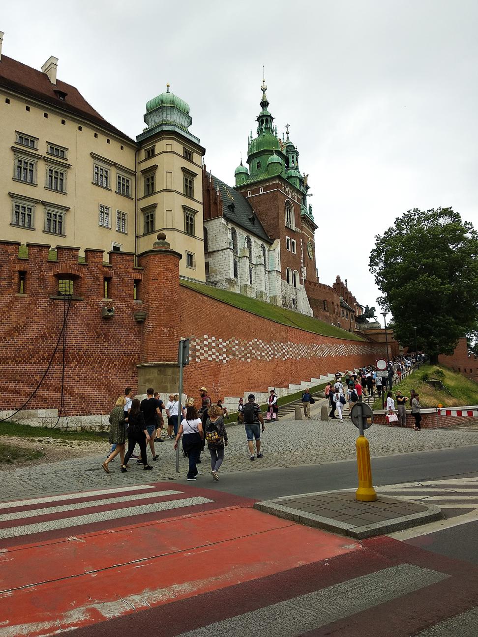 Que ver en Cracovia Colina de Wawel