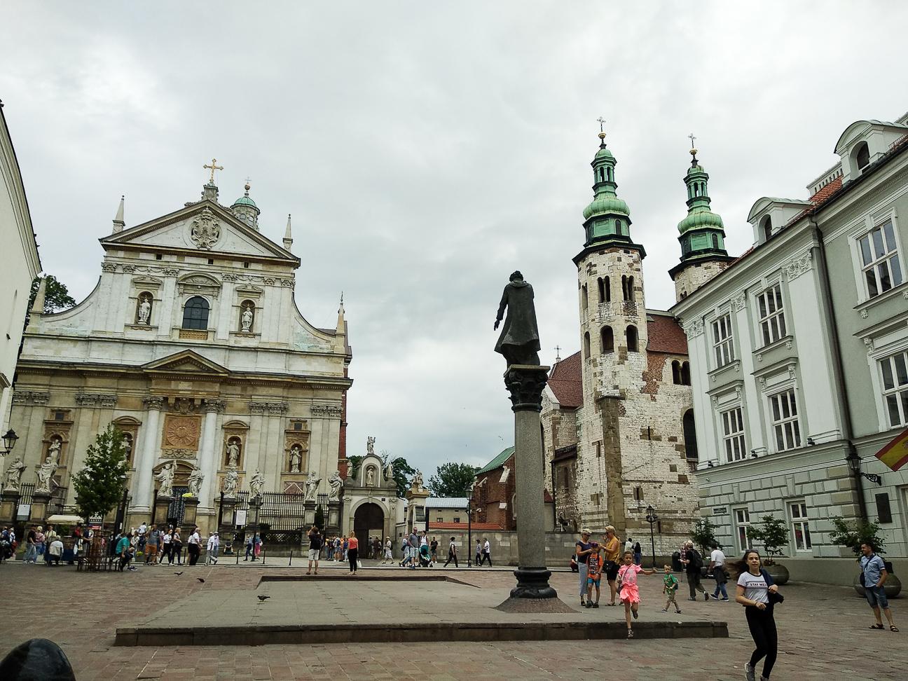 Que ver en Cracovia Iglesia de San Pedro y San Pablo