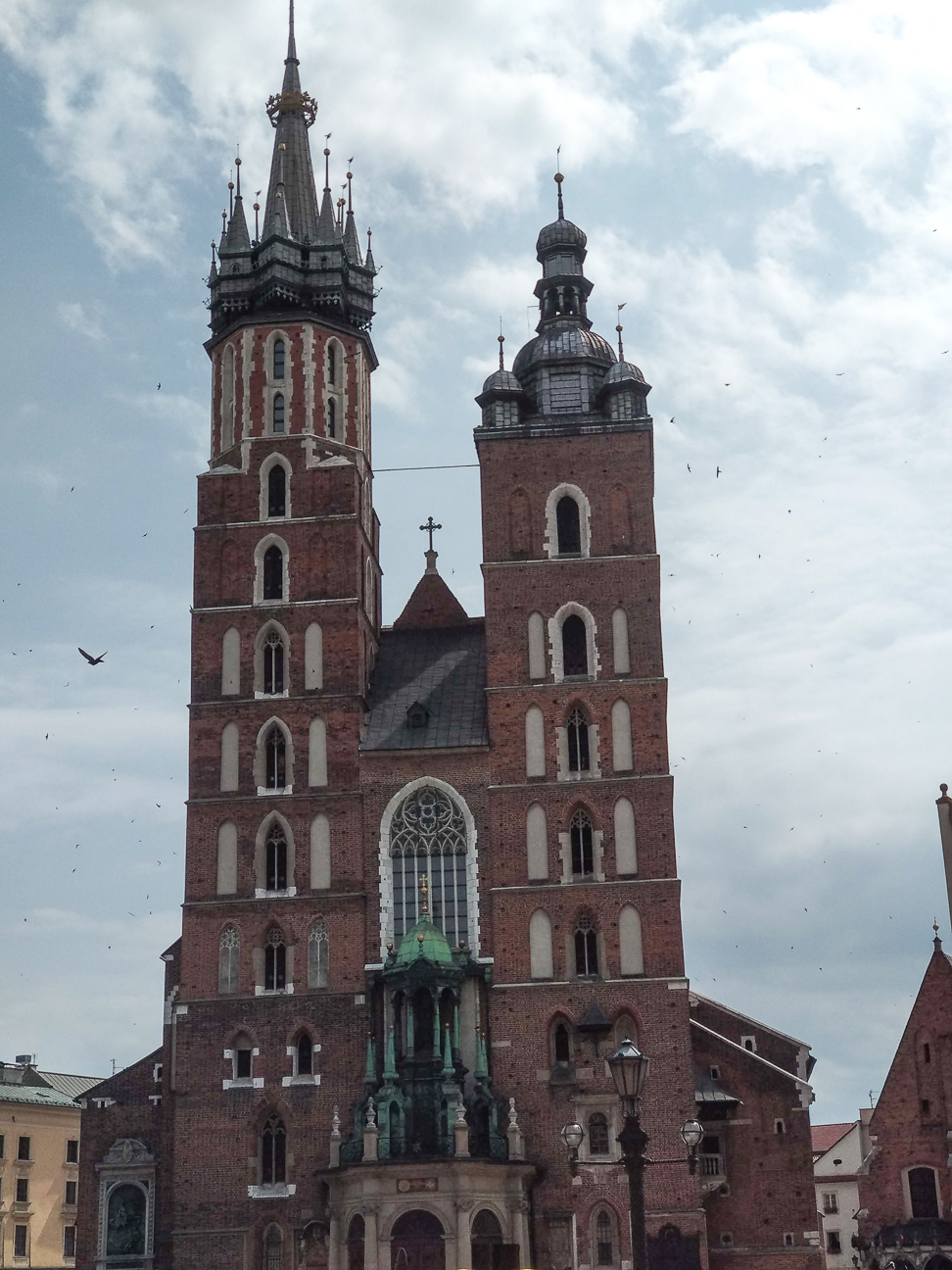 Que ver en Cracovia Iglesia de Santa Maria