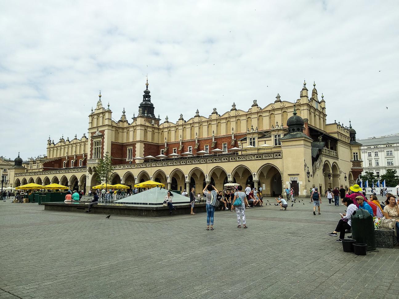 Que ver en Cracovia Lonja de los Panos