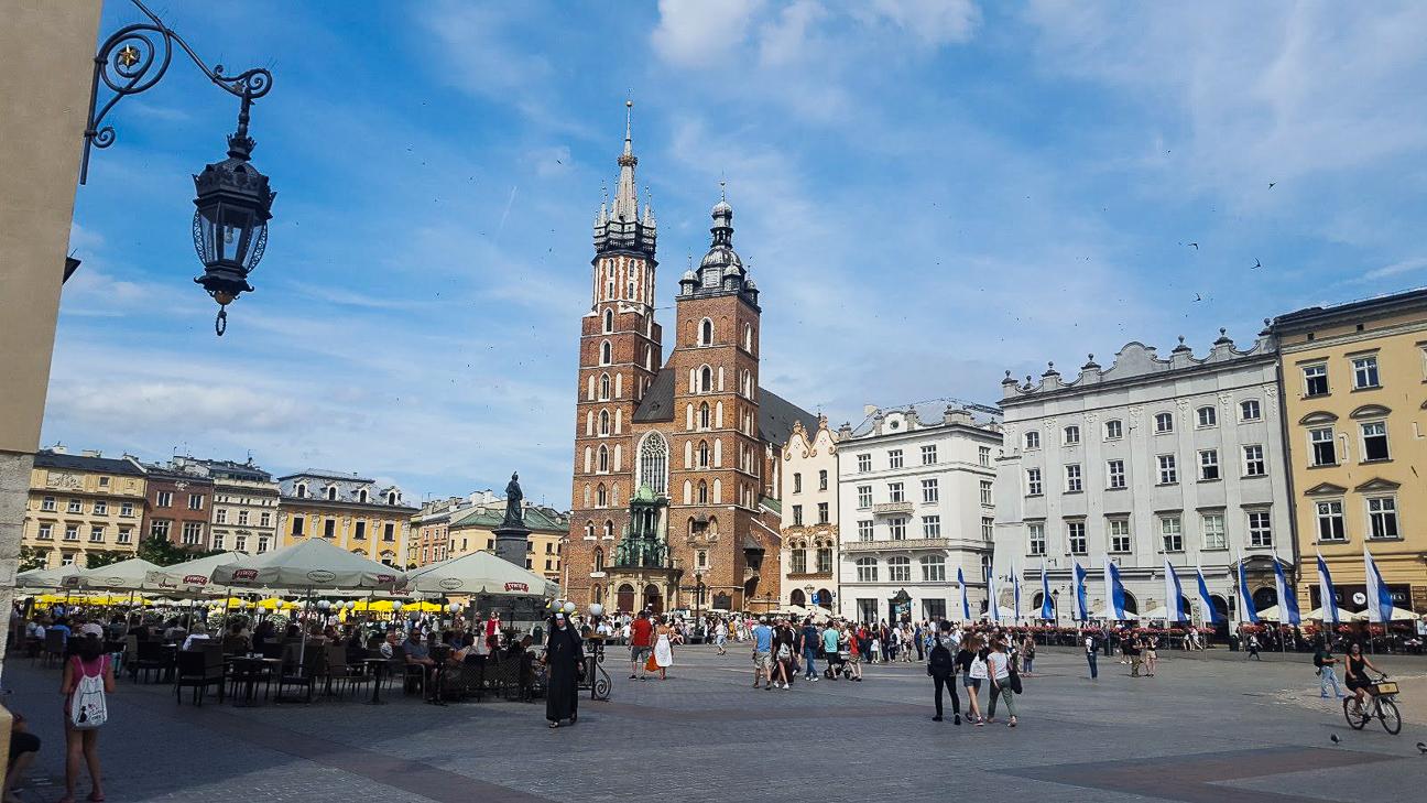 Que ver en Cracovia Plaza del Mercado